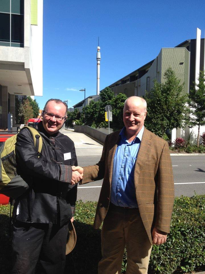 John McGregor and Peter Rasey